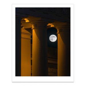 fotografija; printas; foto paveikslas; pirkti; fotografijos printas; arturas jendovickis; jendovickis; peizazas; landscape; miestas; pilnatis; katedra;