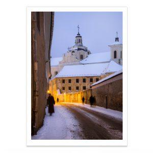 fotografija; printas; foto paveikslas; pirkti; fotografijos printas; arturas jendovickis; jendovickis; peizazas; landscape; ziema; miestas; siluetai;