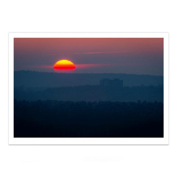 fotografija; printas; foto paveikslas; pirkti; fotografijos printas; arturas jendovickis; jendovickis; peizazas; landscape; saulelydis; melynoji valanda; blue hour
