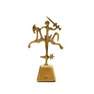 unikalu; suvenyrai; dovanos; verslo dovanos; aksesuarai; skulptura; skulpturele; simbolis; simboliai; vytis; vilnius; bronza; sculpture