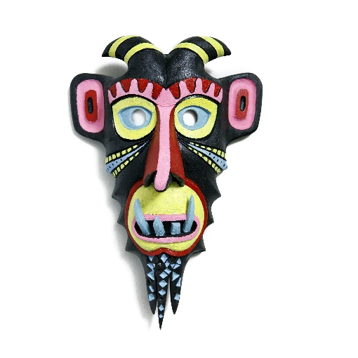 suvenyrai; dovanos; verslo dovanos; aksesuarai; medine; kauke; simbolis; menas; pirkti; medine kauke; velnias; wooden mask