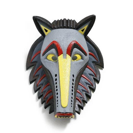 suvenyrai; dovanos; verslo dovanos; aksesuarai; medine; kauke; simbolis; menas; pirkti; medine kauke; vilkas; wolf; wolf mask;